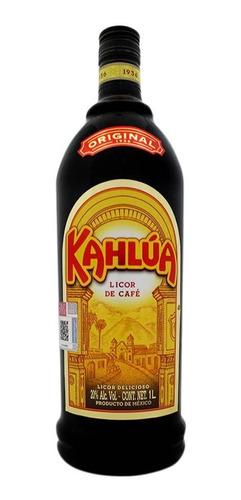 Botella De Licor Kahlua Sabor Café De 1lt.