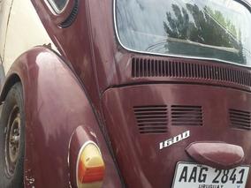 Volkswagen Fusca 1600 Año1977