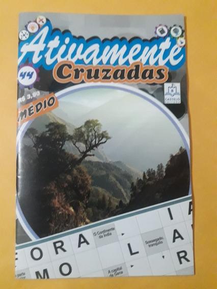 Kit Ativamente - Cruzadas N°44 + Numerex N°49
