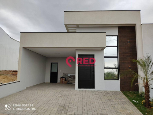 Imagem 1 de 30 de Casa Com 3 Dormitórios À Venda, 122 M² Por R$ 585.000,00 - Condomínio Villaggio Ipanema I - Sorocaba/sp - Ca0558