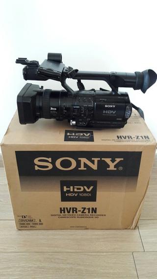 Camara Video Sony Hdv Z1 1080i. Como Nueva. Accesorios