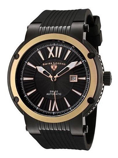 Relógio Suíço Automático - Swiss Legend C/ Watch Winder