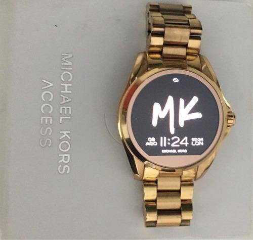 Relógio Michael Kors Smartwatch Access Mkt5004 Rose Gold .