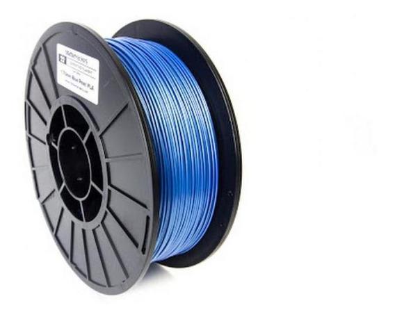 Filamento Para Impressora 3d Pla Perolado Azul 0.5kg
