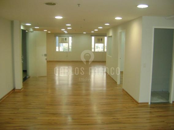 Sala Comercial Brooklin 173m2 - Cf5325