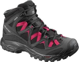 Botas Mujer - Salomon -cagliari Mid Gtx- Impermeable -hiking