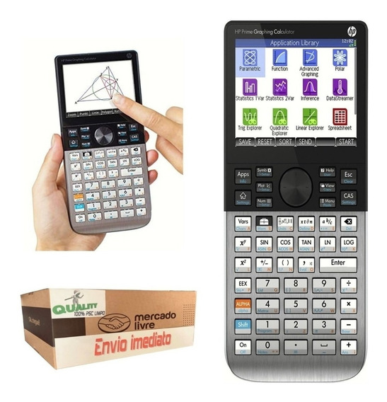 Calculadora Grafica Hp Prime Tela Touch Digital Original V2