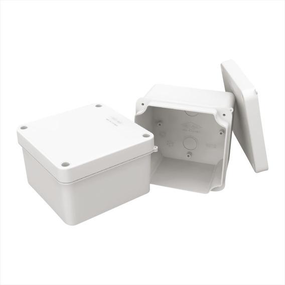 Caja Plastica De Paso 10x10p X 7cm 2 Unid