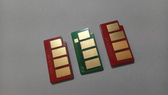 03 Chips Toner Para Samsung D105 4600 4623!
