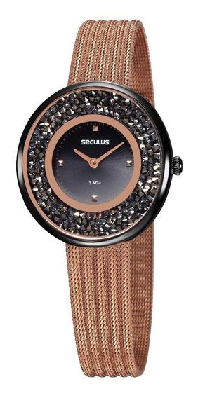 Relógio Seculus Feminino 13042lpsvus2