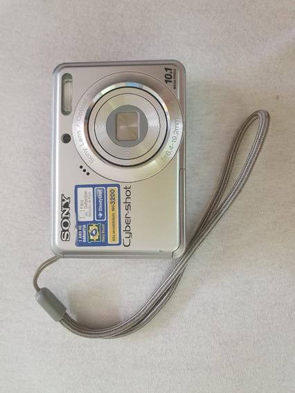 Câmera Digital Sony Cyber-shot 10.1 Mega Pixels Usada