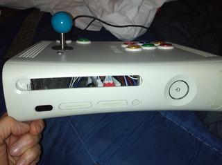 Tablero Arcade Casero Hecho Con Carcasa De Xbox 360