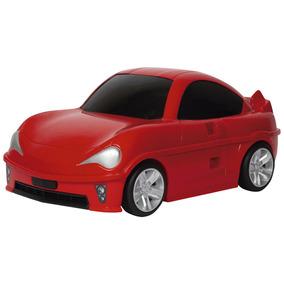 Mochila Com Rodinhas - Play Racing Speed Rc - Vermelha - Ses