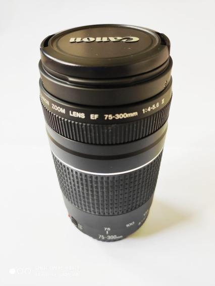 Lente Canon 75-300mm Ill Envio Imediato!