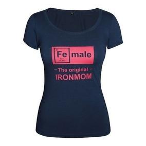 Playera Iron Mom Iron Man Modelo 2