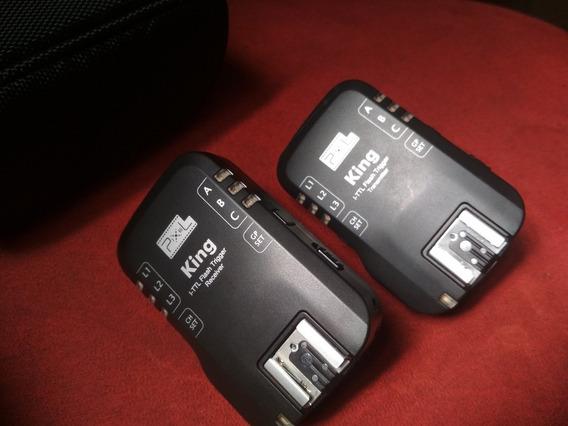 Rádio I-ttl Pixel King Para Nikon