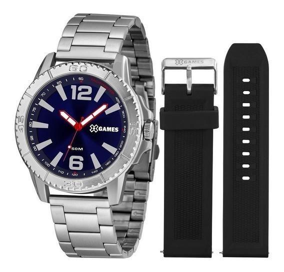 Relógio X-games Masculino Xmls0001 D2sx ( Troca Pulseira )