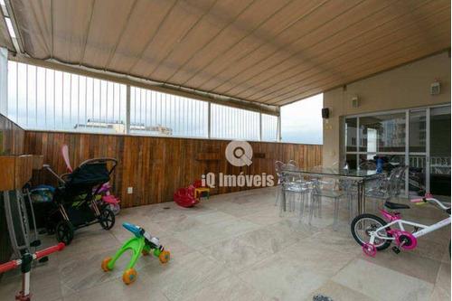 Imagem 1 de 30 de Cobertura Com 3 Dormitórios À Venda, 230 M² Por R$ 2.100.000,00 - Perdizes - São Paulo/sp - Co0012