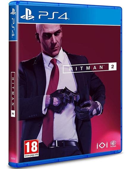 Jogo Hitman 2 Playstation 4 Ps4 Midia Fisica Novo Original
