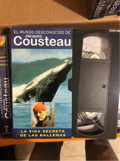 Coleccion Vhs - Jacques Costeau