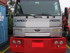 Caminhão Ford 2626 -6x4 C/ Equipamento Guindaste