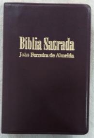 Bíblia Sagrada - (letra Gigante) - João Ferreira De Almeida