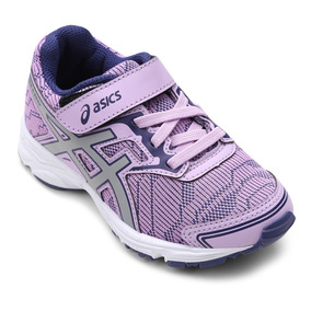 Tênis Infantil Asics Hide And Seek Ps Feminino - Lilás E Cin