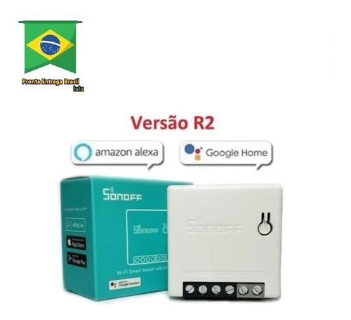 Imagem 1 de 5 de Sonoff Mini R2  - Google Home E Alexa
