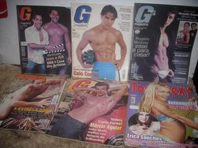 Kits Com 6 Revista Antiga G.magazine ;masculino /