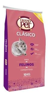 Grandpet Clásico Felino 10 Kg Salud De Corazón, Vista Y Pelo