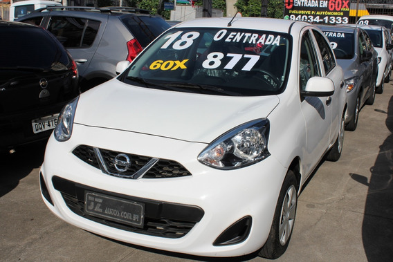 Nissan March S 1.0 - Carro Para Uber 60x Sem Entrada