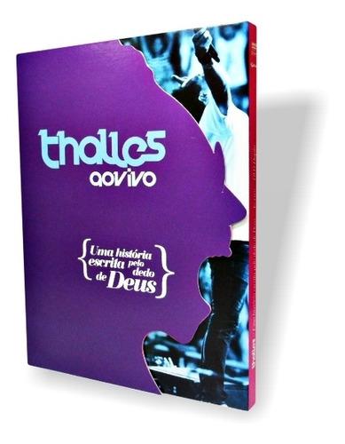 Dvd Duplo Thalles - Uma História Escrita Pelo Dedo De Deus