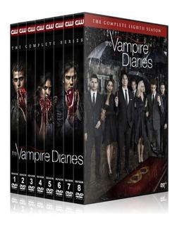 The Vampire Diaries,temporada 1-8,dvd,latino