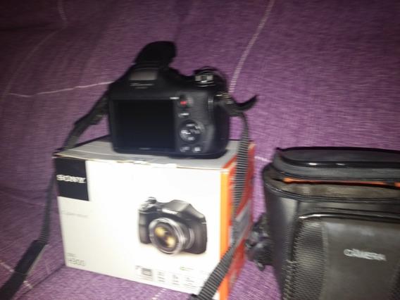 Camera Sony Semi Profissional Dsc H300 - Quase Sem Uso