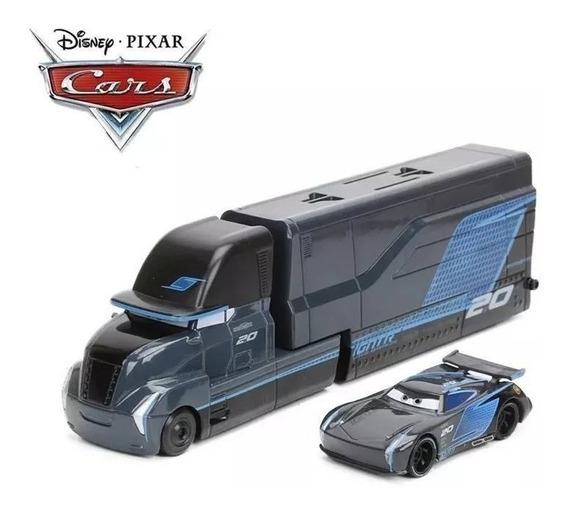 Disney Carros Caminhão Jackson Storm + Carro Mcqueen Brinque