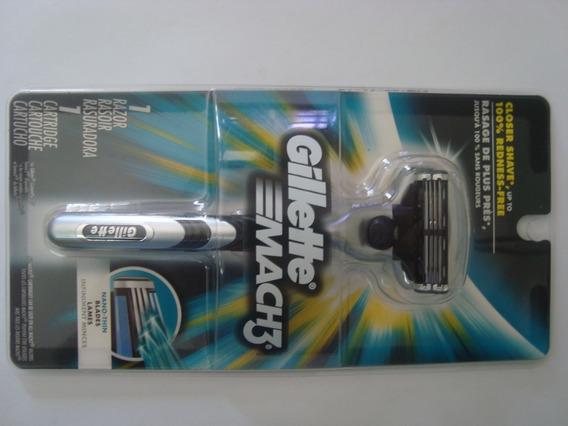 Afeitadora Gillete Mach 3 Original Importada