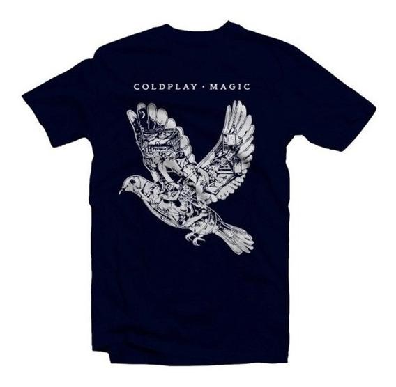 Playeras Coldplay - 9 Modelos Disponibles!!!