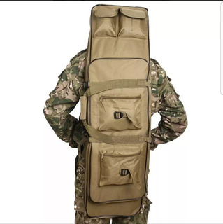 Bolso Mochila Porta Rifle Tactico Militar Caza Pesca