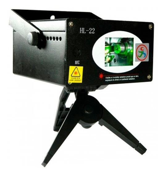 Laser Show Holográfico Dj Hl-22 Original 250mw Sensor De Som