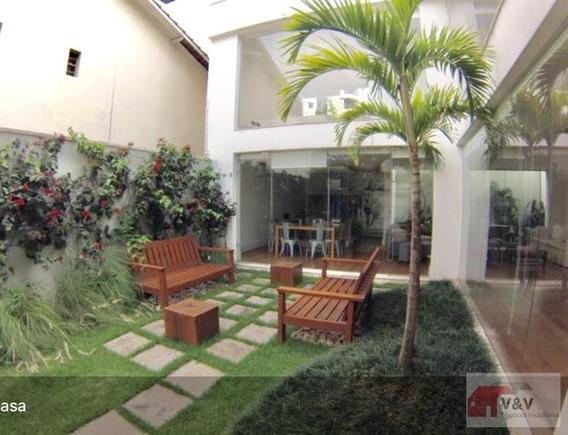 Casa Para Venda Em São Paulo, Campo Belo, 3 Dormitórios, 3 Suítes, 5 Banheiros, 2 Vagas - Cabl863