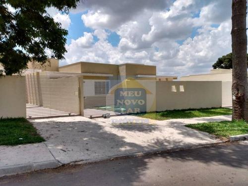 Casa Com 3 Dormitórios À Venda, 58 M² Por R$ 211.000,00 - Costeira - Araucária/pr - Ca0431
