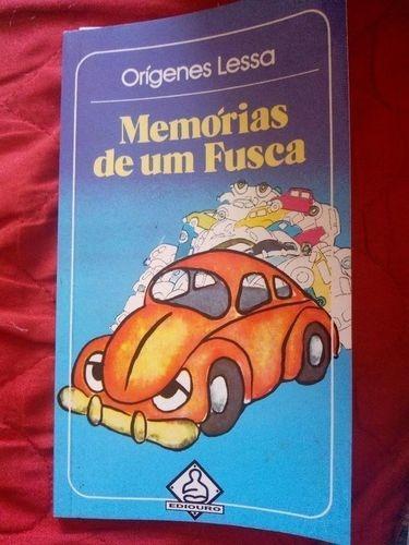 Livro Memórias De Um Fusca Orígenes Lessa