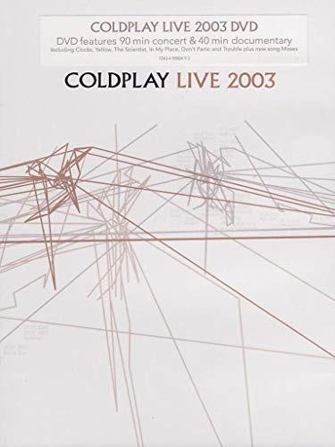 Coldplay Live 2003 Dvd Nuevo Importado Stock