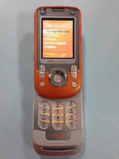 Sony Ericsson W600 Naranja Simplemente Perfecto Para Telcel