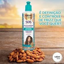 Salon Line Activador De Cachos S.o.s Oleo De Almendras