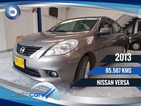 Nissan Versa Advance Financio
