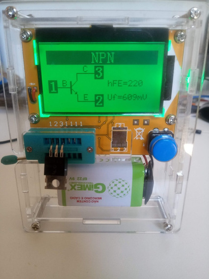 Medidor De Esr, Indutimetro, Capacímetro + Case Frete Gratis