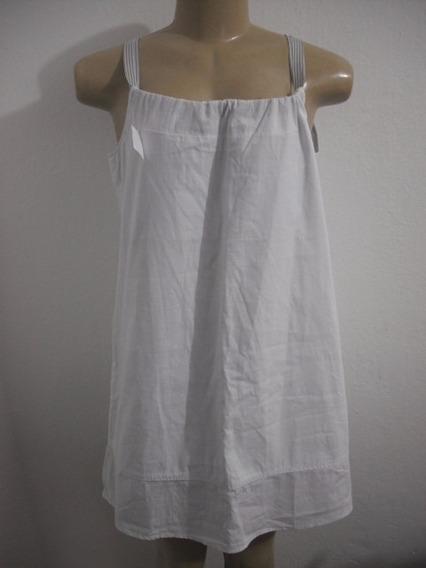 Vestido Curto Basico Branco Hering Tam P Veste Até M Ótimo