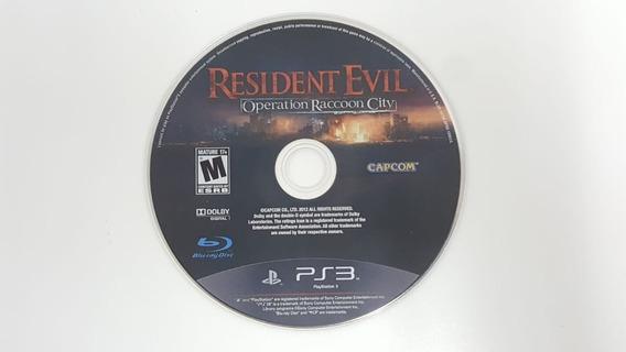 Resident Evil Operation Raccoon City - Ps3 - Sem Encarte
