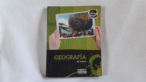 Geografia Del Mundo Kapelusz Contextos Digitales Kapelusz